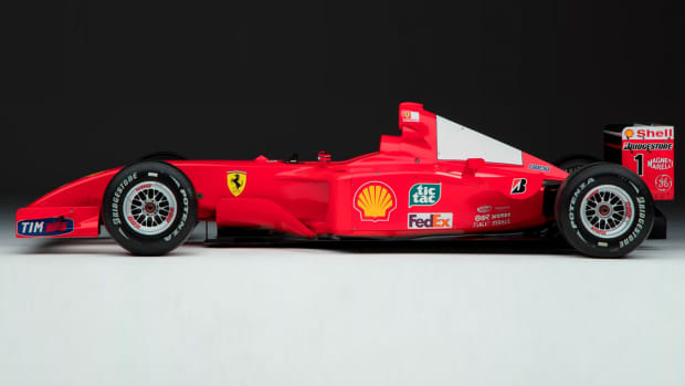 Michael Schumacher F2001