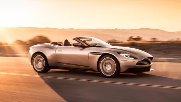 Aston Martin DB11 Volante Profile