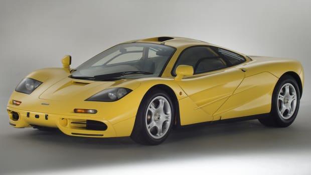 McLaren F1 149 miles