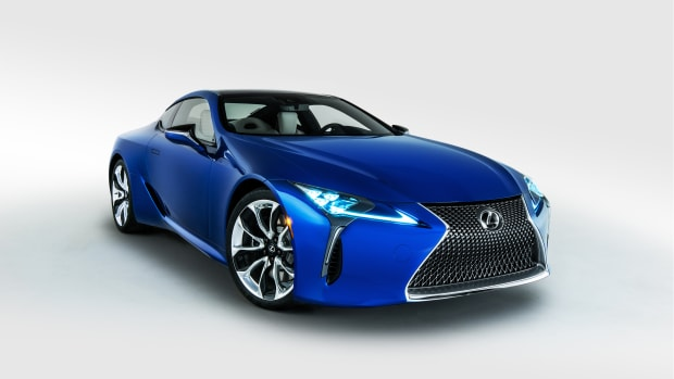 2018 Lexus LC Inspiration Series