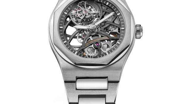 GP Laureato Skeleton Tourbillon