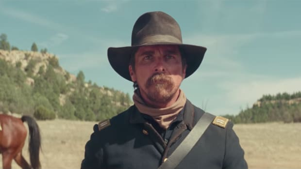 "Christian Bale in ""Hostiles"""