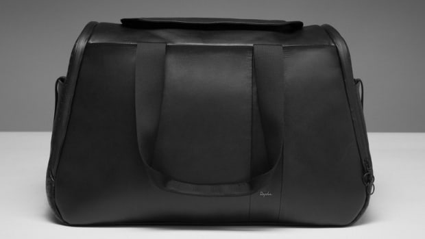 Rapha Leather Weekender