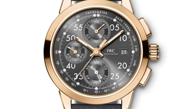 IWC for Nico Rosberg