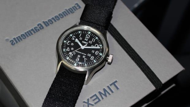 Timex x Engineered Garments for Beams Boy