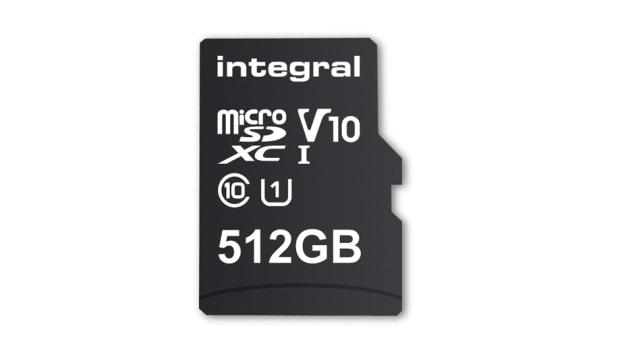 Integral microSD 512GB