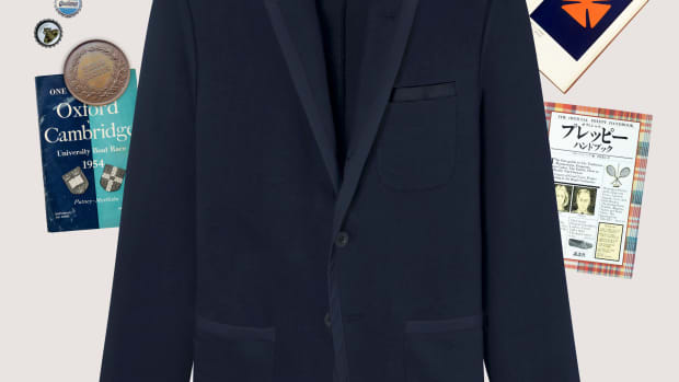 BEAMS Plus x Rowing Blazers navy