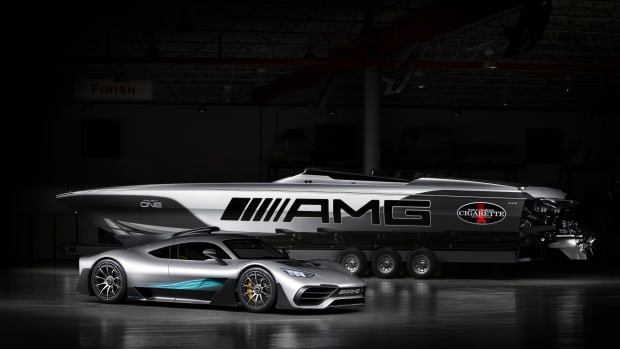Mercedes-AMG x Cigarette Racing 515 Project ONE 2