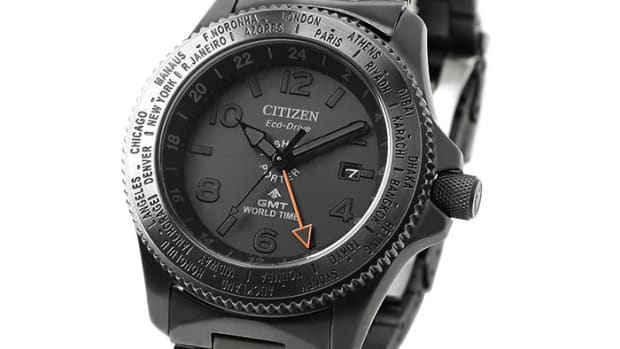 Porter x Citizen GMT World Time