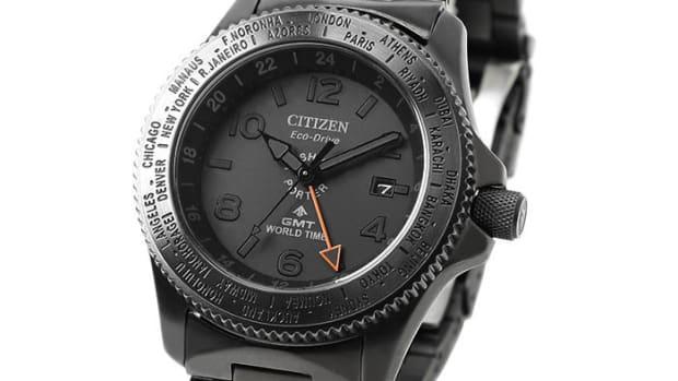 Porter x Citizen GMT World Time