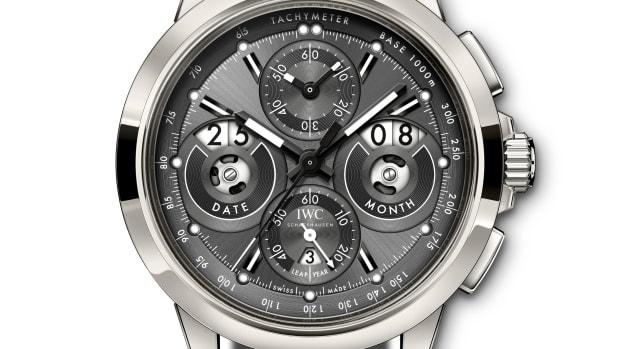 IWC Ingenieur Perpetual Calendar Digital Date-Month Titanium