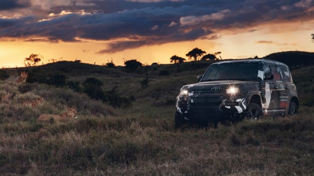 New Land Rover Defender Completes Testing in Kenya