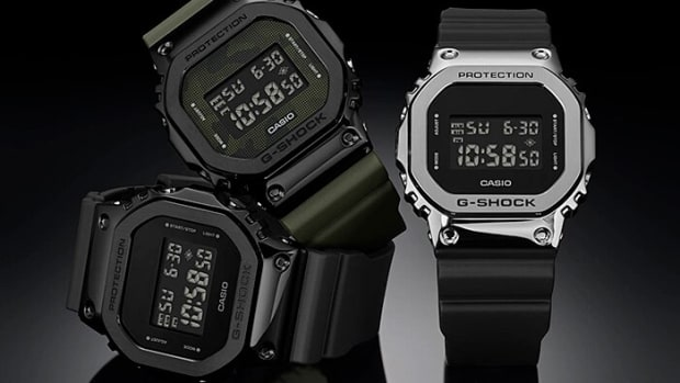 G-Shock Metal Bezel 5600