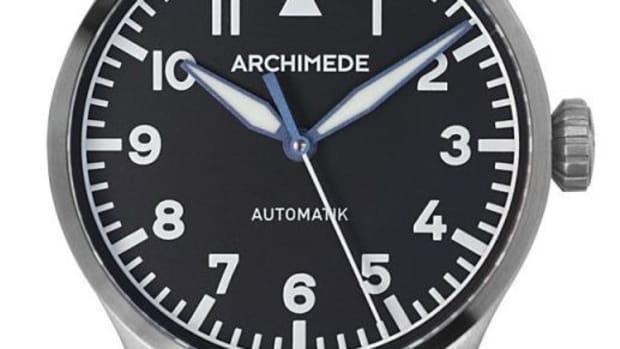 Archimede 36mm Pilot Watch