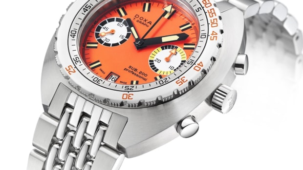 Doxa SUB 200 T.GRAPH Chrono Steel
