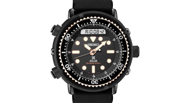 Seiko 1982 Hybrid Diver's Watch