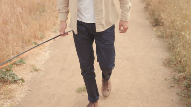 Terrain Pant Navy path