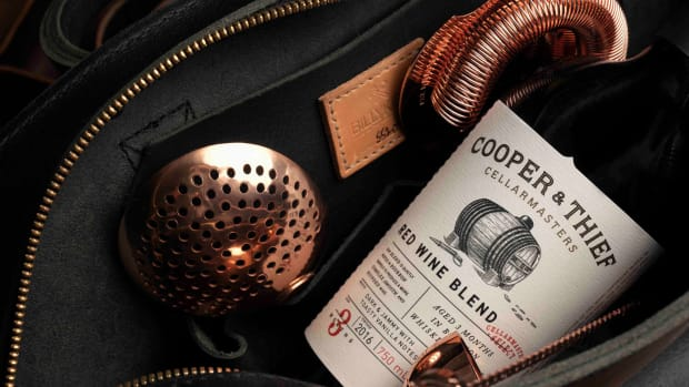 Billykirk x Cooper & Thief Bartender Bag - Interior