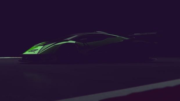 Lamborghini Squadra Corse Hypercar Teaser