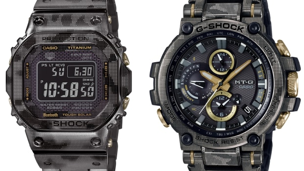 Casio Laser Camo Print watches