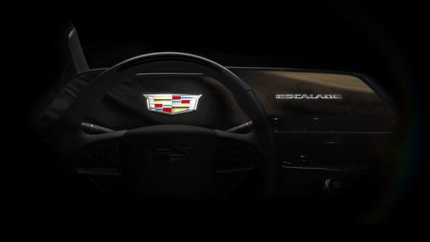 Cadillac OLED dashboard