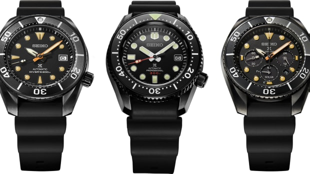 Seiko Prospex Black Series Limited Edition