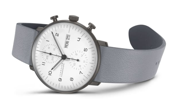 Junghans Max Bill Anthracite Chronoscope