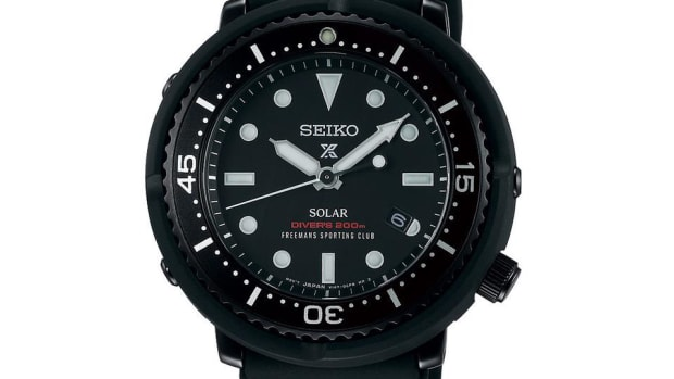Freemans Sporting Club Seiko Dive Watch
