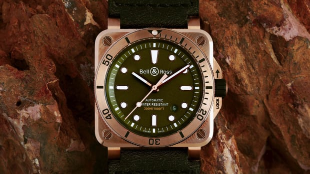 Bell & Ross x Cortina Bronze Diver