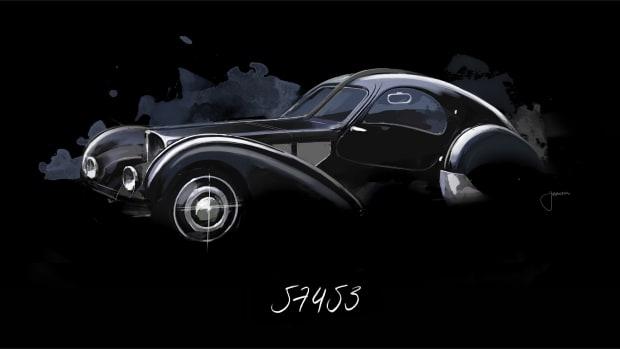 Bugatti Atlantic Chassis 57 453