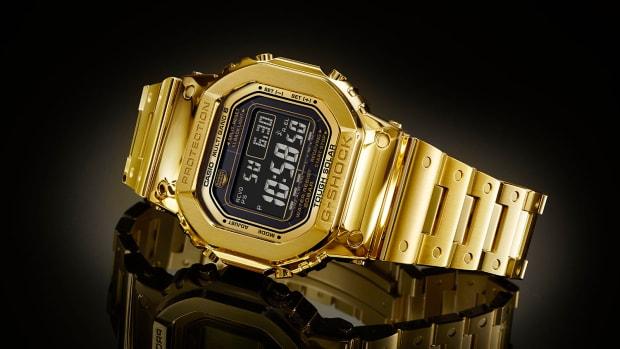 Casio G-Shock 18K Gold