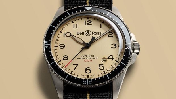 Bell & Ross BR V2-92 Military Beige