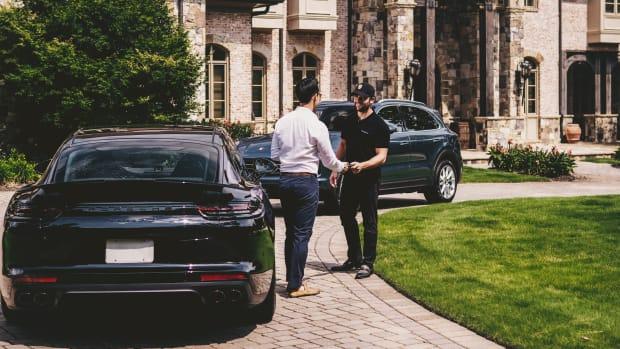 Porsche Drive, at home