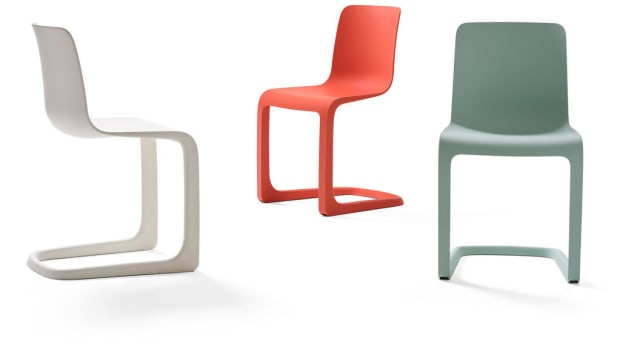 Vitra Cantilever Chair by Jasper Morrison