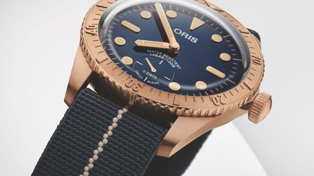 01 401 7764 3185-Set - Oris Carl Brashear Calibre 401 Limited Edition_Original_12949