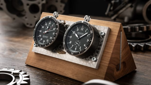 Jaguar E-type 60th Bremont Rally Timer