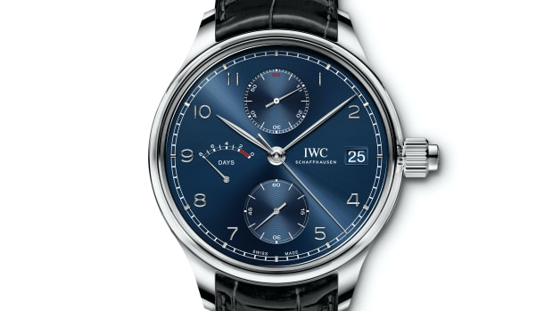"IWC ""Laureus Sport for Good"" Portugieser Hand-Wound Monopusher Edition"