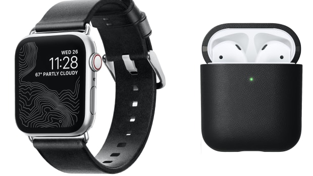 Nomad Apple watch and AirPods accessories