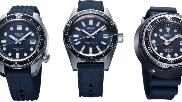 Seiko 55th Anniversary Dive Watches