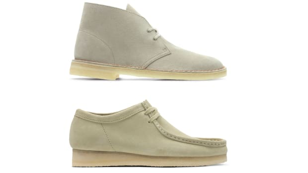 Clarks Desert Boots and Wallabees