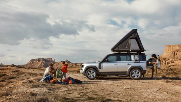 LAND ROVER AND AUTOHOME CREATE RUGGED ROOF TENT FOR NEW DEFENDER  (8)