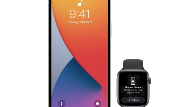 Apple iOS 14.5 Unlock iPhone with Apple Watch