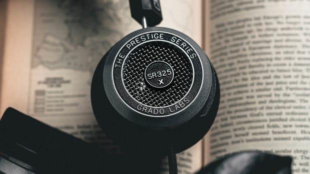 Grado-Labs-SR325x-Headphones-on-Book