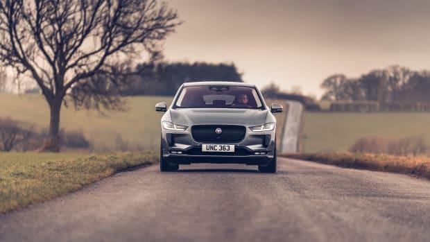 2022 Jaguar I-PACE_Eiger Grey_Front Dynamic
