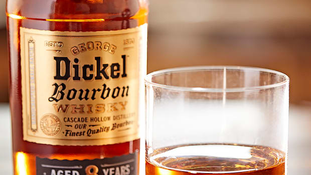 Dickel Bourbon Neat Pour