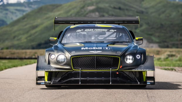 8. Bentley Continental GT3 Pikes Peak Livery