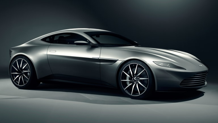 The Aston Martin DB10