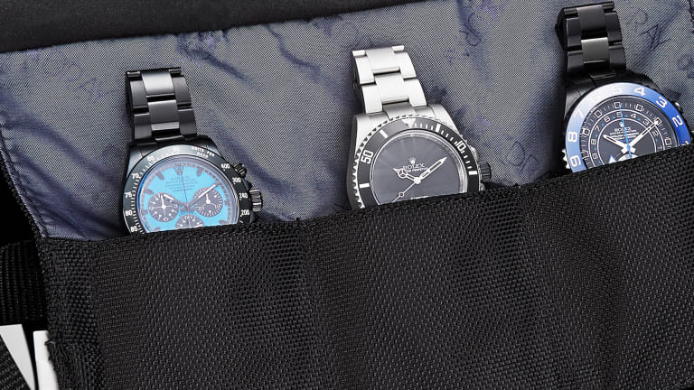 Lexdray x Bamford Watch Roll