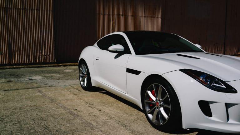 Ferocious Feline: Jaguar's F-Type Coupe