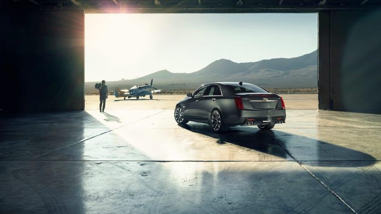The 640-hp 2016 Cadillac CTS-V